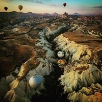 土耳其秘境12日:蓝色小亚细亚,卡帕多奇亚热气球,使徒脚踪