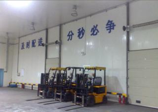 3000吨物流冷库安装工程案例
