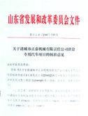 山东省发展和改革委员会文件