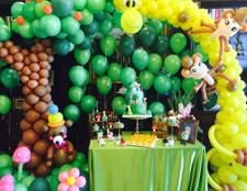 派对婚礼创意甜品台的设计和执行