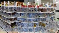 霖峰城市广场商业剖面