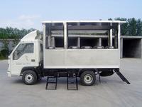 单排移动送餐车