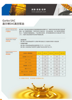 嘉尔博真空泵油SAC系列