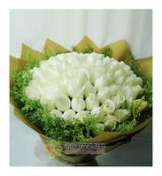你我的约定----99枝白玫瑰
