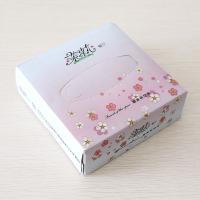 盒抽广告纸巾定制|茉莉花餐厅
