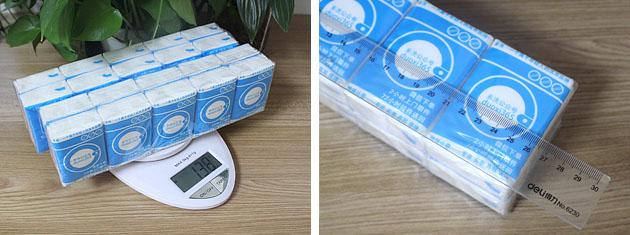 2包称重与整包测量实拍