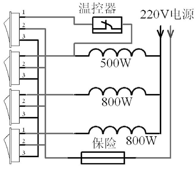 典型家用电热锅电路和维修实例