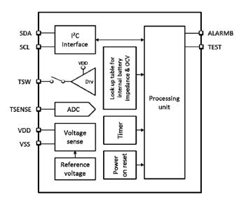 LC709203F模块图