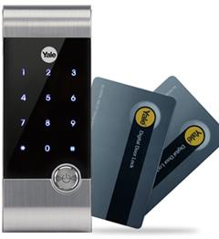 YDR3111圖片,卡鎖,耶魯智能鎖,智能觸摸屏